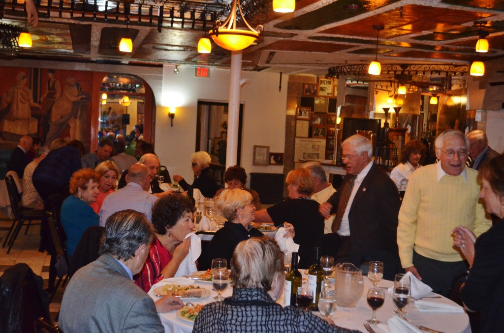 Pirandello Sing Along 2014 at Filippo's enjoying great food and great company