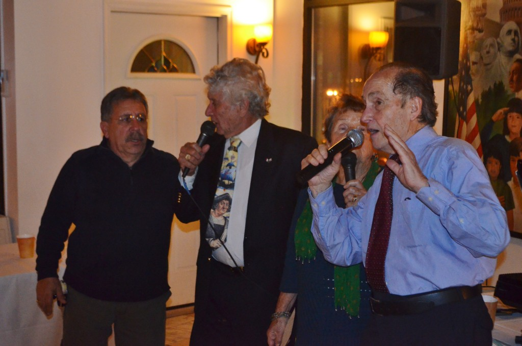 Pirandello Sing Along 2014 at Filippo's – The quartet…